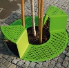 sinus multifunctional tree grid with seats by mmcite