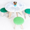 recik table and stool for eco friendly children