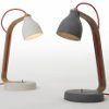 heavy concrete desk lamps