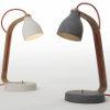 heavy concrete desk lamps
